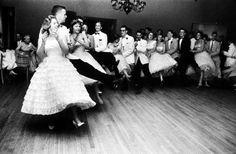 Teens, 1958 Teen students dancing at the Mariemont High School prom