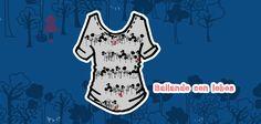 "Shirt: ""Lobo feroz"" / Set ""Bailando con lobos"". #CUROI15"