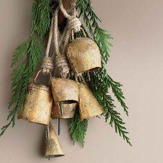 Mini Hanging Temple Bell Ornaments   VivaTerra