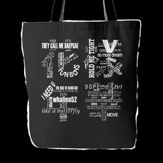 "19"" x 38"" tote bag featuring our exclusive designs on both sides 1"" wide super strong cotton shoulder strap (14"" in length) Soft yet hard wearing, 100% spun Polyster Poplin fabric Dry or spot clean on"