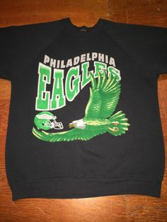 PHILADELPHIA EAGLES VINTAGE 1990 S SWEATSHIRT - ADULT LARGE - RARE!!!   PhiladelphiaEagles. Bucks County Baseball Co. acb49d634