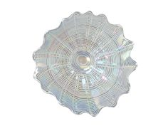 FLUSH MOUNT WALL SCONCE DALE TIFFANY FEATHER 16-INCH 3 -LIGHT POLISHED C…