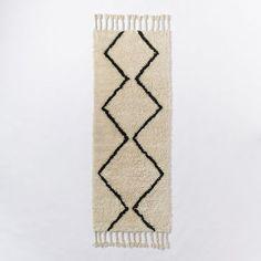 Souk Wool Rug   west elm.  Runner.  2.5 x 7, $180.