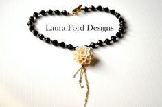 Little Devil Necklace by LauraFordDesigns on Etsy, $59.00