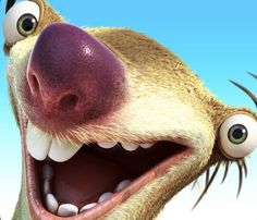 Ice Age Adventures by Gameloft Cute Disney Wallpaper, Cute Cartoon Wallpapers, Ice Age Funny, Ice Age Sid, Sid The Sloth, Sloth From Ice Age, Ice Age Movies, Dreamworks, Disney Pixar