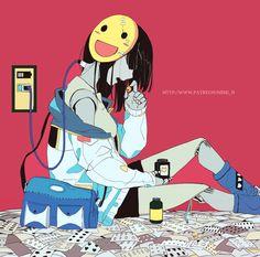 it's doesn't make happiness Anime Girl Crying, Sad Anime Girl, Dark Art Illustrations, Illustration Art, Anime Kunst, Anime Art, Sun Projects, Vent Art, Arte Obscura