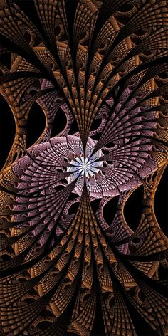 30 Mind Blowing Pieces of Algorithmic Fractal Art Fractal Geometry, Sacred Geometry, Fractal Design, Fractal Art, New Media Art, Psychedelic Art, Geometric Art, Optical Illusions, Medium Art