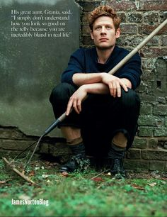 James Norton photographed by Bruce Weber for Vogue