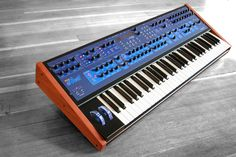 One of the most complex digital/analog hybrid synths available. The Dave Smith Polyevolver is the polyphonic version of their popular Evolver series.