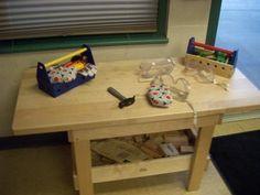 Preschool Woodworking Center