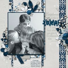 Digital Scrapbook Page Inspiration, Connie Prince Gallery