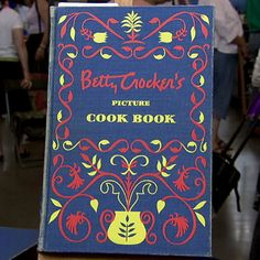 Signed Betty Crocker Cookbook
