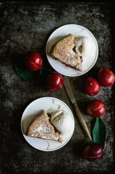 Paleo Grain Free Plum Cake @krwalsh4 Thought you might like this.