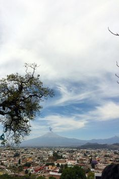 Popocatépetl desde Cholula.