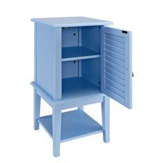 Powell Shutter Door Table - Now On Sale! #doortable #cabinet