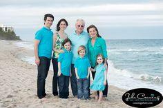 Kaplan family beach portraits