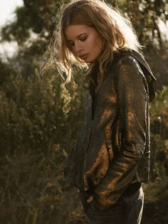 Hooded Sequin Jacket from Free People!