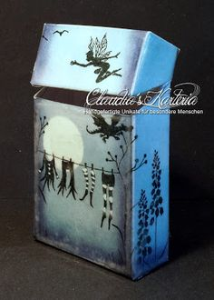 Claudia's Karteria Blog, Cute, Crafts, Boxes, Bricolage, Candles, Handmade, Creative, Manualidades