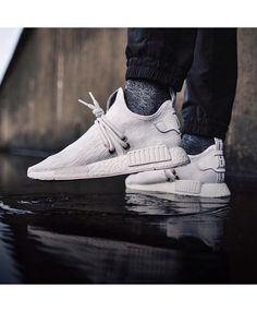 ac397baba Adidas NMD XR1 Uncaged Grey White Trainers Street Outfit