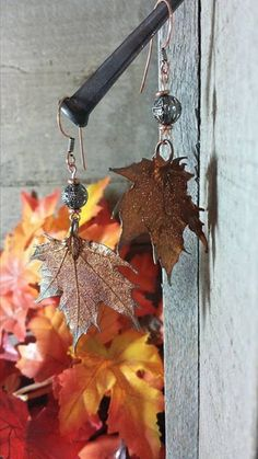 Copper Leaves by Mystikal1981 on Etsy, $30.00