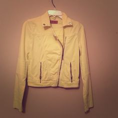 Moto top shop jacket Worn once 97% cotton 3% elastane Topshop Jackets & Coats