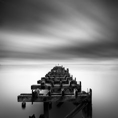 Ruined Pier: By George Digalakis, more artworks http://www.artlimited.net/25437 #Photography #Montage #Construction #Edifice #Pier