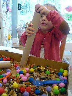 Sensory Tub Play from The Imagination Tree