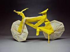 Origami Bike - Jason KU + Diagram!! - YouTube