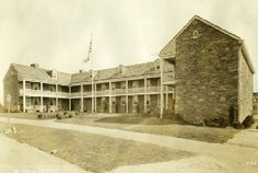 The Old Barracks in Trenton, NJ after restoration, circa 1926. Discover more history @ www.thehistorygirl.com