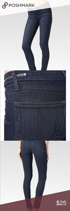 Spotted while shopping on Poshmark: Paige Jolene Zip Ultra Skinny Jeans + Bonus pair!! #poshmark #fashion #shopping #style #PAIGE #Denim