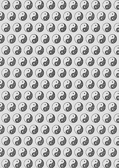 Yin yang on the ceiling Black Aesthetic Wallpaper, Aesthetic Wallpapers, Background Pictures, Background Patterns, Overlay Tumblr, Fabric Wallpaper, Pattern Wallpaper, Yen Yang, Happy Hippie