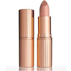 Charlotte Tilbury K.I.S.S.I.N.G Lipstick (1.950 RUB) ❤ liked on Polyvore featuring beauty products, makeup, lip makeup, lipstick, beauty, lips, cosmetics, filler, nude kate and moisturizing lipstick