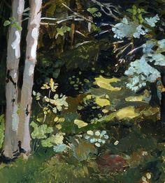 urgetocreate — alongtimealone: Fairfield Porter, Path in the...