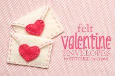 Felt Valentine's Day