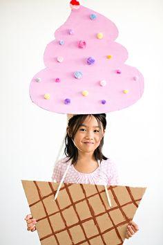 hello, Wonderful - THE CUTEST CARDBOARD ICE CREAM COSTUME FOR KIDS
