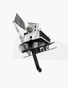 """""""Standing into danger""""_Collage by John Andrew Stewart Landscape Architecture Model, Architecture Portfolio Layout, Architecture Drawing Plan, Architecture Drawing Sketchbooks, Conceptual Architecture, Architecture Wallpaper, Architecture Collage, Architecture Graphics, Architecture Posters"""