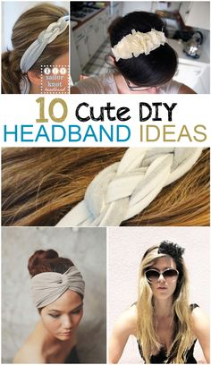 DIY Headband Ideas