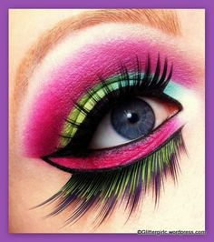 Brilliant application of colours used in this look.