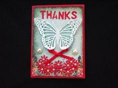 Márcia - cartões: Thanks