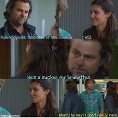 NCIS: LA Kensi and Deeks.
