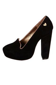 Venta Lollipops / Zapatos de Tacón / Zapatos de Tacón de Piel Nobile Negro y Rosa 39€ en divinitycollection.es