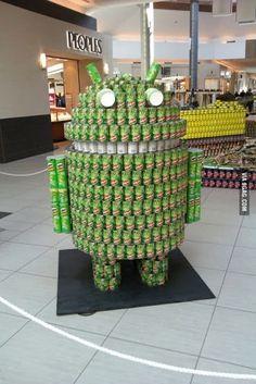 Una soda para amantes de #android!
