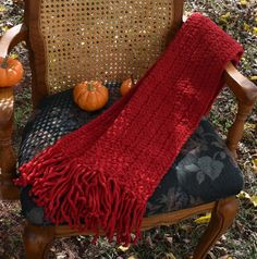 Crochet Neck Scarf, Soft, Warm, and Bulky Red, Unisex, Long With Fringe,  Winter Wear, Great Gift Idea! by VeeSwan on Etsy