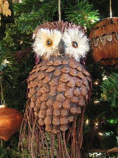 Cute owl ornament by moonlightbulb, via Flickr