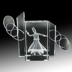 Süslemeli Kristal 3D Ve 2D Küp - KRİSTAL ÜRÜNLER - Durbuldum.com - kristal işleme