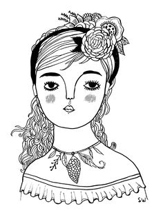 Proud Gypsy Girl by Sarah Walsh