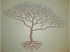 Unique wire tree sculpture by Rob Hagarty, found in private and corporate collections worldwide. Wire Wall Art, Metal Tree Wall Art, Metal Art, Wire Tree Sculpture, Sculptures, Wire Trees, Tree Company, Unique Gardens, Projects To Try
