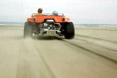 """Just a Car Guy: the Steve McQueen dune buggy from """"The Thomas Crown Affair"""" , Faye Dunaway looks like she's screaming every time they caught air"""