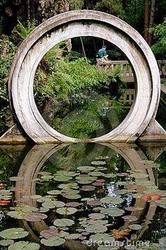 Chengdu, China: Wen Shu Temple Moongate by Lee Snider, via Dreamstime