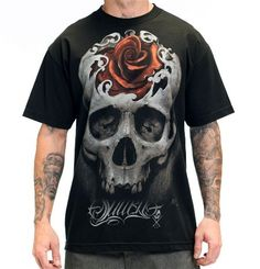 Best Selling Men's Hidden Beauty T Shirt available at #InkedShop visit us online at www.inkedshop.com/men-s-hidden-beauty-tee-by-sullen-clothing.html